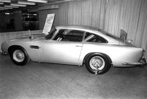 "Cars: James Bond1964 Aston Martin DB-5 vehiclefrom ""Goldfinger""**I.V.MPTV - Image 3846_0557"