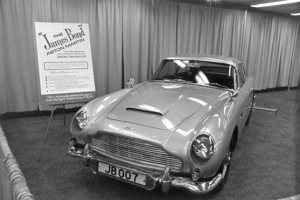 "Cars: James Bond1964 Aston Martin DB-5vehicle from ""Goldfinger""**I.V.MPTV - Image 3846_0558"