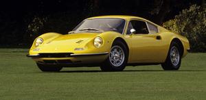 Cars 1970 Ferrari 246 GT Dino 2002 Concorso Italiano © 2002 Ron Avery