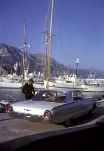 Ford Thunderbirdin MonacoOctober 1962 © 1978 Mark Shaw - Image 3846_0918