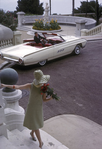 Ford Thunderbirdin MonacoOctober 1962 © 1978 Mark Shaw - Image 3846_0920