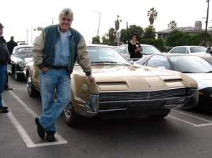 CarsJay Leno and his 1966 Oldsmobile Toronado2005 © 2005 Ron Avery - Image 3846_1340