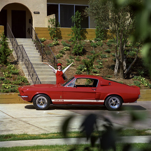 Cars1967 Shelby GT 500September 19665269 Newcastle Encino, CA© 1978 Sid Avery - Image 3846_2170