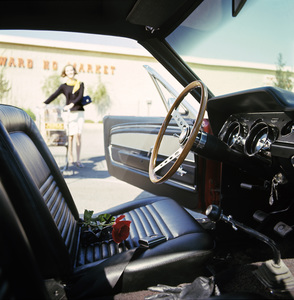 Cars1967 Shelby GT 500September 1966Sherman Oaks Fashion Square Westward Ho Market© 1978 Sid Avery - Image 3846_2172