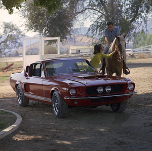 Cars1967 Shelby GT 500September 1966© 1978 Sid Avery - Image 3846_2181