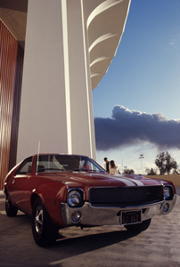 Cars (1968 American Motors Corporation (AMC) AMX)1967© 1978 Mario Casilli - Image 3846_3015