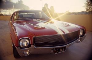 Cars (1968 American Motors Corporation (AMC) AMX)1967© 1978 Mario Casilli - Image 3846_3017