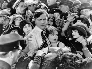 Crowd SceneC. 1922 Silent Film - Image 3854_0061