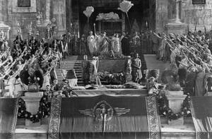 "Crowd Scene from""Quo Vadis""C. 1924 - Image 3854_0151"
