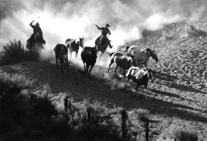 WesternsHorse Ranch in Bend, OregonSeptember 2000 © 2000 Gene Trindl - Image 3888_0012