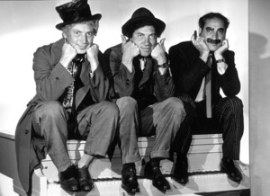 The Marx Brothers (Harpo, Chico and Groucho) circa 1936 © 1978 Ted Allan - Image 3891_0163