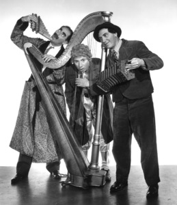 The Marx Brothers (Groucho, Harpo, Chico)circa 1936 © 1978 Ted Allan - Image 3891_0164
