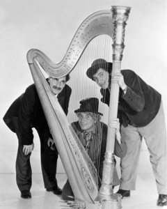 The Marx Brothers (Groucho, Harpo and Chico)circa 1940s** I.V / M.T. - Image 3891_0312