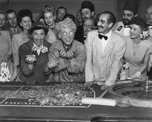 """A Night in Casablanca""Chico Marx, Harpo Marx, Groucho Marx1946** I.V. - Image 3891_0315"