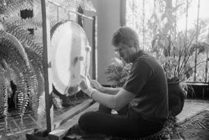 James Coburn at home1966© 1978 David Sutton - Image 3893_0144