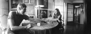 James Coburn at home with his wife, Beverly Kelly1966© 1978 David Sutton - Image 3893_0147
