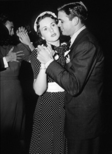 Deanna Durbin and Charles David, c. 1945.**I.V. - Image 3910_0012