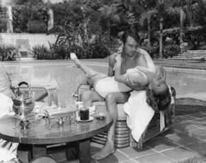 Veronica Lake and Joel McCreacirca 1940s** I.V. - Image 3912_0236