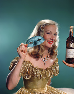 Veronica Lake for a Cresta Blanc advertisementcirca 1940s© 1978 Paul Hesse - Image 3912_0239