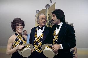 Ruth Buzzi with Jack Albertson and Tony Orlando1978Photo by Gabi Rona - Image 3922_0002