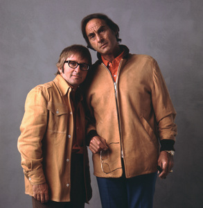 Sid Caesar and Arte Johnson1973 © 1978 Sid Avery - Image 3923_0075