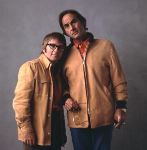 Sid Caesar and Arte Johnson1973 © 1978 Sid Avery - Image 3923_0075