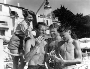 """The Adventures of Ozzie & Harriet""Ozzie Nelson, Harriet Hilliard, David Nelson, Ricky Nelsoncirca 1965 - Image 3933_0027"