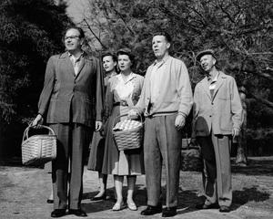 """The Adventures of Ozzie & Harriet""Parley Baer, Sally Hughes, Harriet Hilliard, Ozzie Nelson, Frank Cadycirca 1959Photo by Joe Shere - Image 3933_0050"