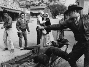Stuntmen at Corriganville Movie Ranch in California1961© 1978 Lou Jacobs Jr. - Image 3934_0045