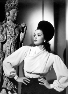 """Gene Tierney from""""Shanghai Gesture,"""" 1941MPTV/ © 1978 Ned Scott Archive - Image 3940_0024"""