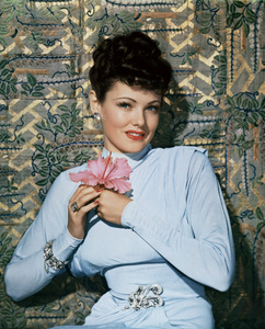"""Gene Tierney in """"The Shanghai Gesture""""1941© 1978 Ned Scott Archive - Image 3940_0038"""