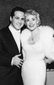 Marie McDonald and her third husband, Louis Bass (executive of the William Morris agency), at their wedding in Las Vegas, NevadaMay 1959 - Image 3947_0428