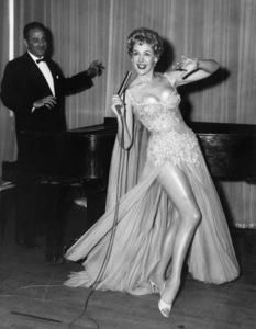 Marie McDonald making her professional nightclub debut in Reno, NevadaMay 1957 - Image 3947_0431