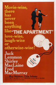 """The Apartment"" (Poster)1960 United Artists** I.V. - Image 3948_0029"