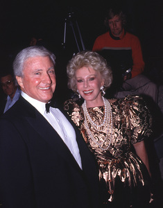 Eva Gabor and Merv Griffin1990 © 1990 Gunther - Image 3950_0029