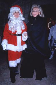 Eva and Zsa Zsa Gaborat the Golden Apple Awards, Beverly Hills12-11-1994 © 1994 Mirek Szepietowski - Image 3950_0032