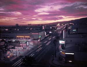 Hollywood Landmarks (Sunset Blvd.)circa 1960© 1978 Gabi Rona - Image 3950_0091