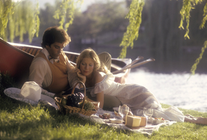 Couples - RomanticBy the LakeMay 1973 © 1978 Sid Avery - Image 3952_0186
