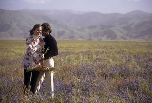 Couples - RomanticJohn Corbett, Debbie RaffinApril 1978 © 1978 Sid Avery - Image 3952_0222