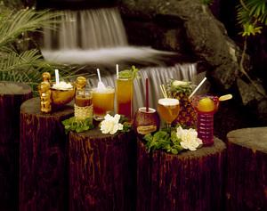 Polynesian-Themed Drinks (Promotion for Don the Beachcomber)circa 1960s© 1978 Gene Howard - Image 3954_0027