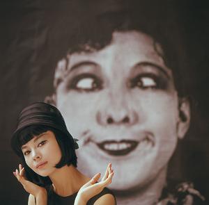 Fashion modelcirca 1961 © 2008 Mark Shaw - Image 3956_0979