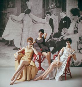 Models in Nina Ricci1961 © 2008 Mark Shaw - Image 3956_0980