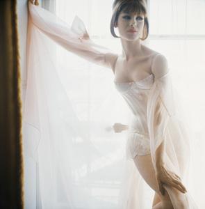 Model wearing Miguel Ferreras corset circa 1960 © 2008 Mark Shaw  - Image 3956_1004