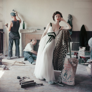 Fashion model circa 1955 © 2008 Mark Shaw  - Image 3956_1012