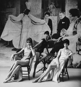 Models in Nina Ricci1961 © 2008 Mark Shaw - Image 3956_1025
