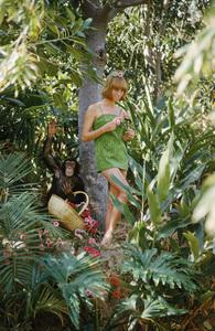 Model at Disneyland1962 © 2010 Mark Shaw  - Image 3956_1031