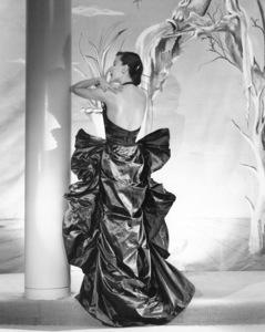 Woman wearing an Adrian sculptural gown1948 © 1978 John Engstead - Image 3956_1042