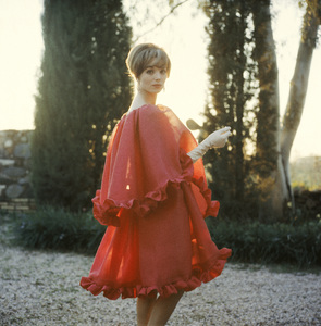 Fashion model Elsa Martinelli in Dior1961© 2013 Mark Shaw - Image 3956_1086