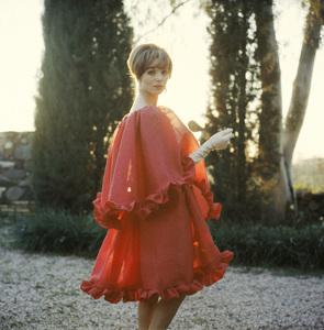 Fashion model Elsa Martinelli in Dior1961© 2013 Mark Shaw - Image 3956_1086