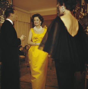 Dior fashion modelcirca 1958© 2013 Mark Shaw - Image 3956_1117